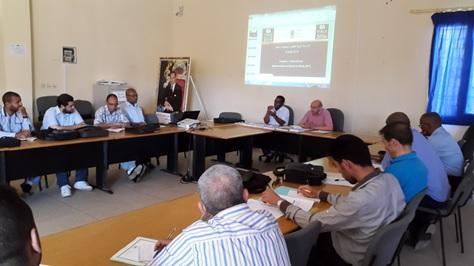 اللقاء التواصلي التنسيقي حول الإعداد لإجراء الدراسة الدولية TIMSS 2015 بزاكورة