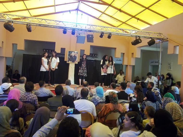ثانوية عبد الرحيم بوعبيد الإعدادية بورزازات تنظم الايام الثقافية الأولى