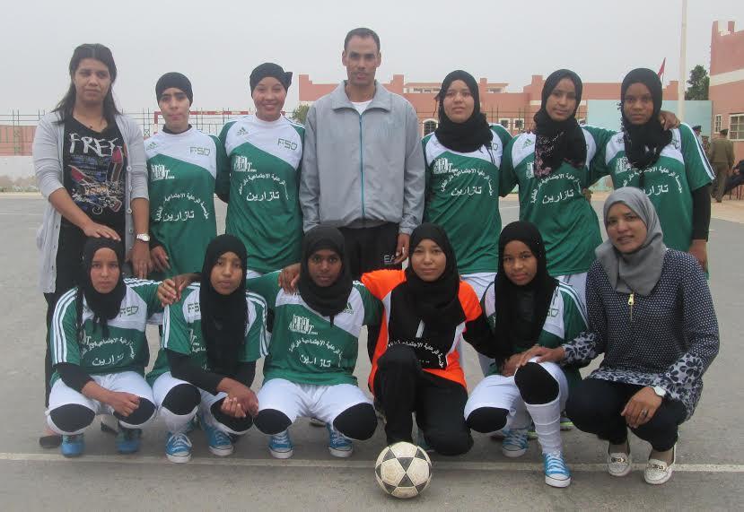 فريق دار الطالبة تازارين يخوض النهائي الوطني لكرة القدم بأكادير الأحد المقبل
