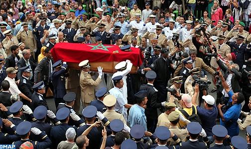 تشييع جثمان الملازم الطيار ياسين بحتي الذي استشهد إثر تحطم طائرته (إف 16) في اليمن