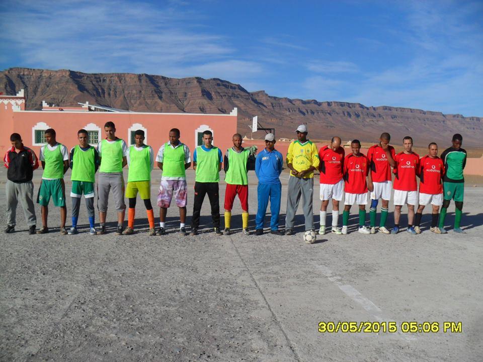 اختتام منافسات دوري المحبة لكرة القدم المصغرة بدار الشباب اولاد يحيى لكراير