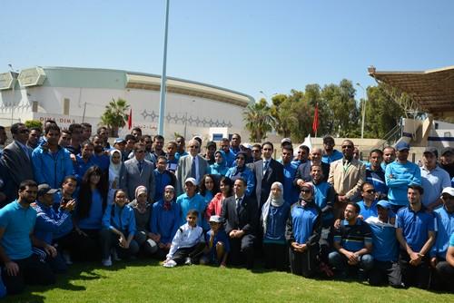 الدورة الثامنة من البطولة الوطنية المدرسية بمدينة أكادير