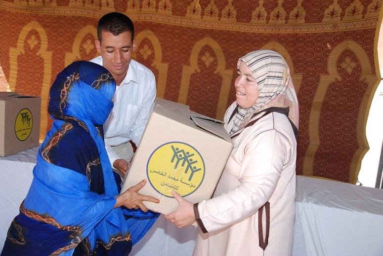 6100 مستفيد من عملية رمضان برسم سنة 1436هـ الموافق لسنة 2015