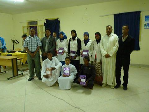إختتام الأنشطة الثقافية لثانوية مزكيطة بمسابقة لتجويد القرآن الكريم