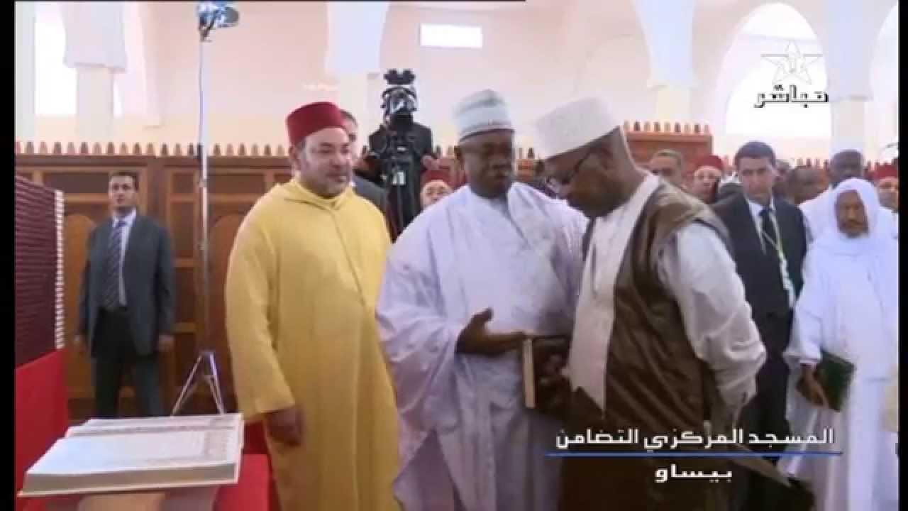 بالفيديو: الملك غادر غينيا بيساو غاضبا