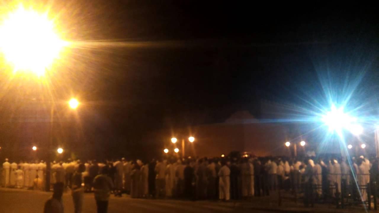 مشهد رائع من صلاة التراويح بمسجد الكتبية بمراكش