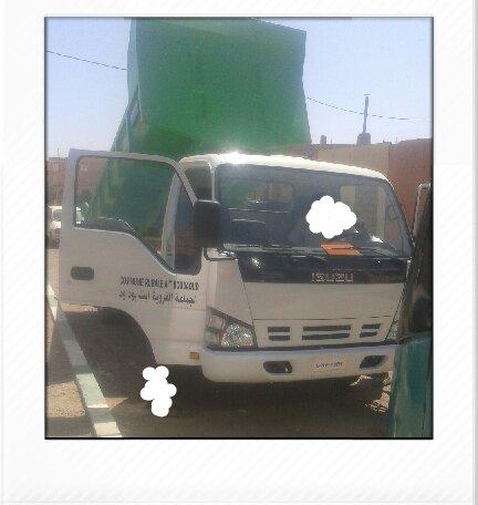 رد رئيس جماعة أيت بوداود عن مقال يخص شاحنة لنقل الأزبال
