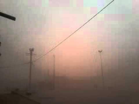 فيديو: رياح عاصفية رملية قوية بالمحاميد الغزلان