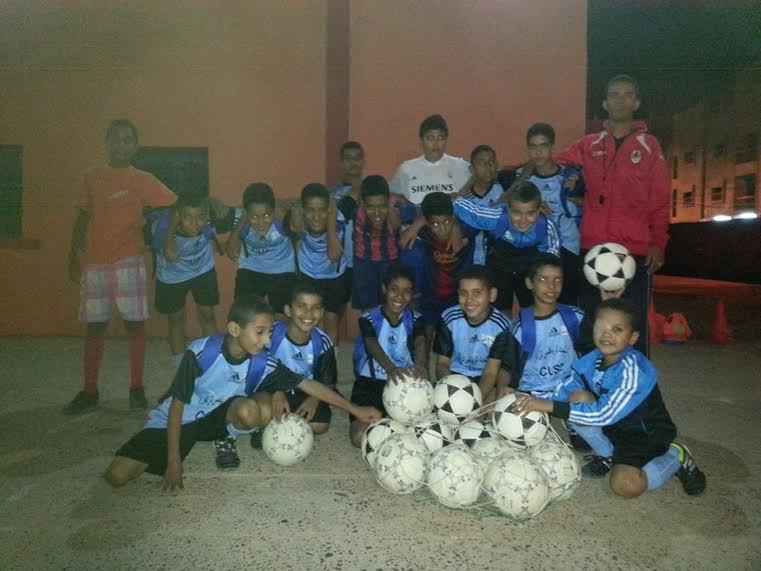 انطلاق تدريبات مدرسة كرة القدم بزاكورة