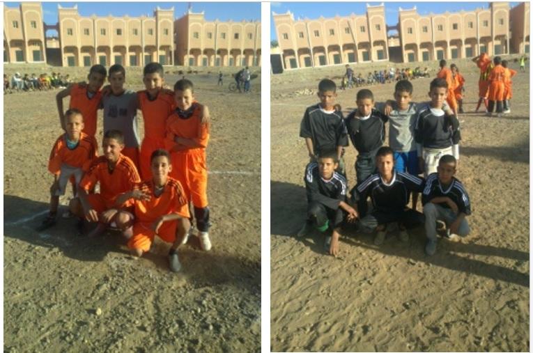 إنطلاق دوري كرة القدم المصغرة المنظمة من طرف دار الشباب النقوب
