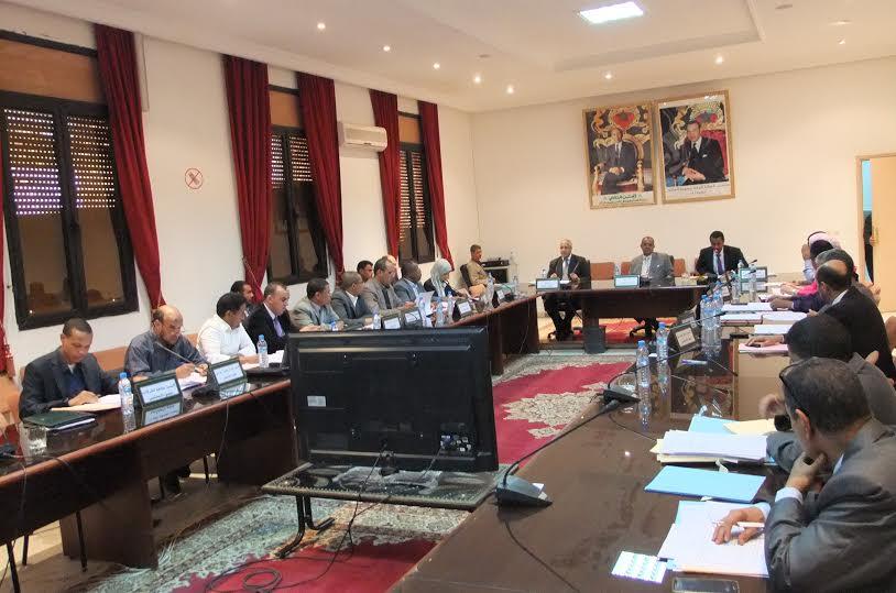 موظفي المجلس الإقليمي لزاكورة من أشبال الحسن الثاني