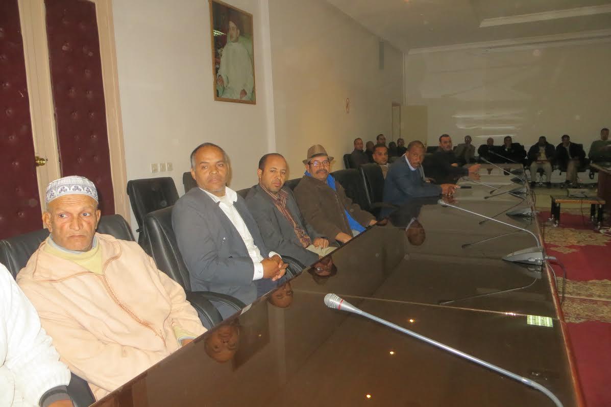تحالف الميزان والمصباح يفوز برئاسة مجموعة الجماعات لإقليم زاكورة