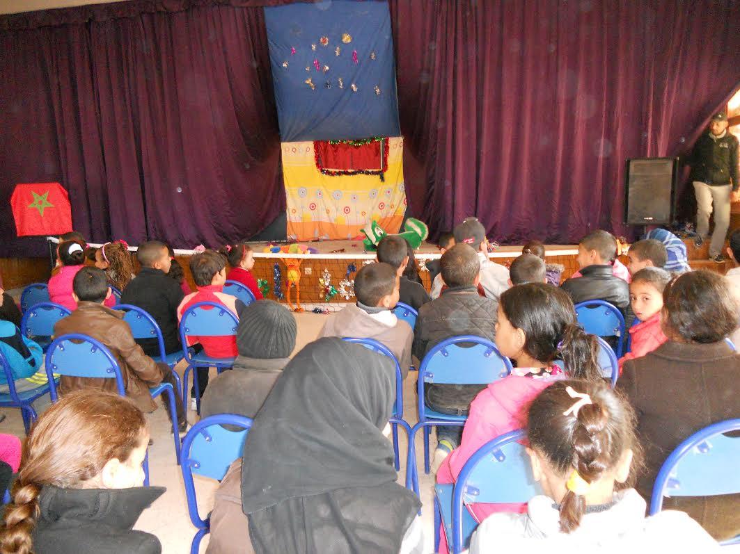 نادي الطفولة لدار الشباب قلعة امكونة يلتقى بالأطفال في صبيحية تربوية