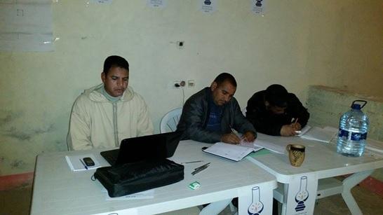 الكتابة المحلية لحزب العدالة والتنمية بتاكونيت تتواصل مع مستشاري الحزب بالجماعة