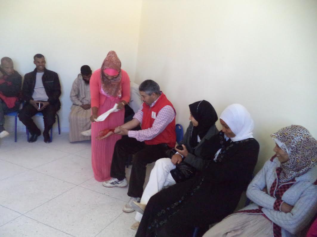 انطلاق  التسجيل للاستفادة من الدورات  التكوينية   في الإسعافات الأولية للهلال الأحمر المغربي بزاكورة