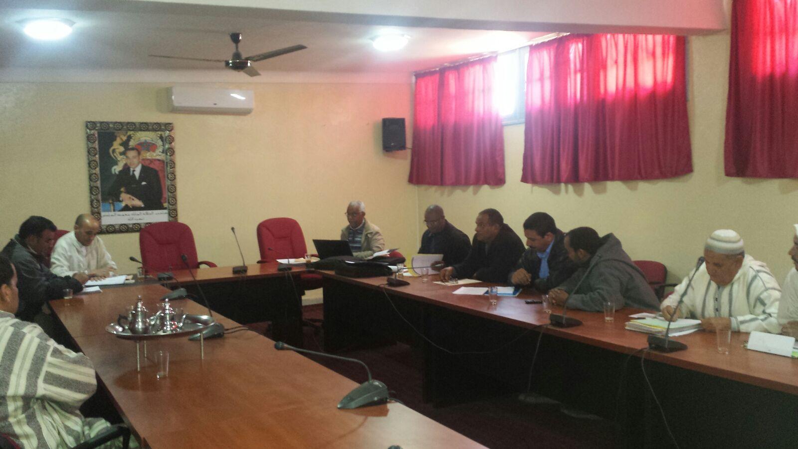 تازارين: تأسيس GIE المجموعة ذات النفع الاقتصادي للتعاونيات الفلاحية بحوض المعيدر