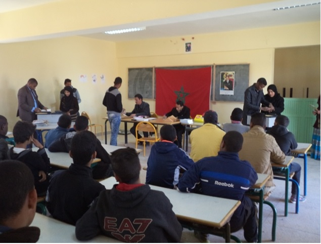 ورشات تحسيسية للمديرية الإقليمية لوزارة التربية الوطنية والتكوين المهني  بزاكورة