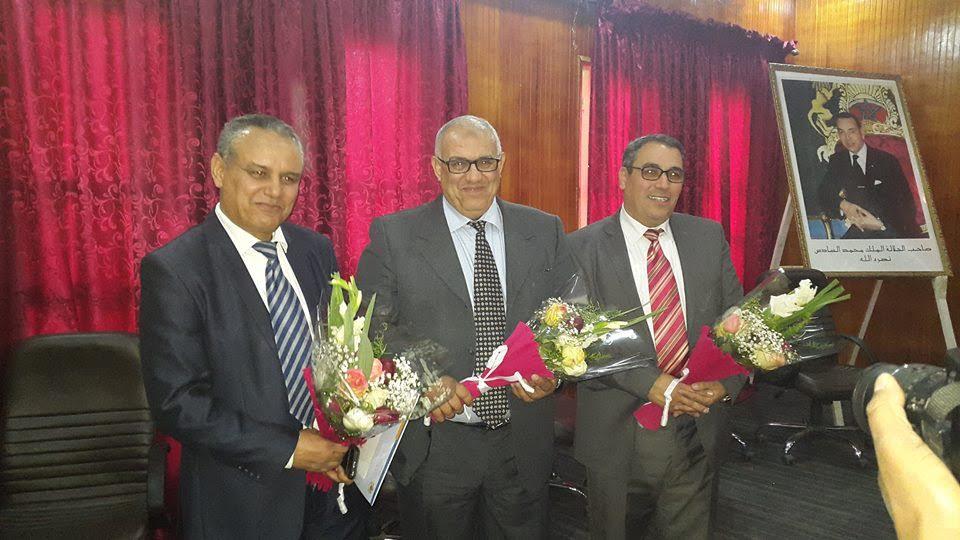 حفل تنصيب النائب الإقليمي الجديد لوزارة التربية الوطنية و التكوين المهني بورزازات