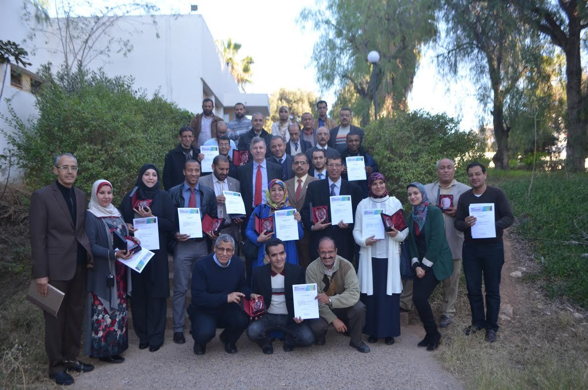ثانوية سيدي أحمد بناصر ضمن المتوجين بجوائز مشروع الربط بين الفصول في أكادير