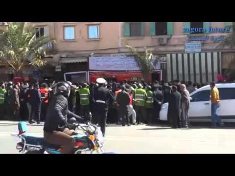 فيديو: جانب من المهرجان الخطابي خلال الإضراب العام بزاكورة