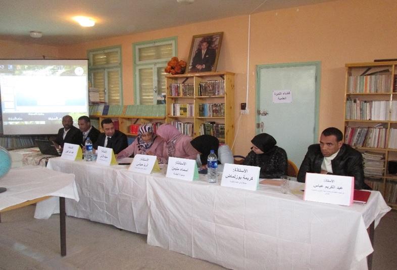 إحتفال ثانوية سيدي صالح التأهيلية باليوم العالمي للمرأة