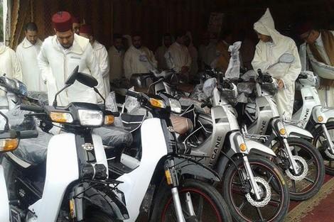 الأئمة المرشدون يستفيدون من وسائل النقل بإقليم زاكورة