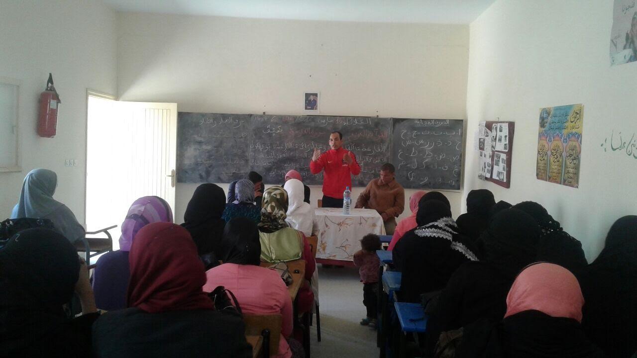تازارين: إدماج المعطيات المحلية في مقررات تعليم الكبار