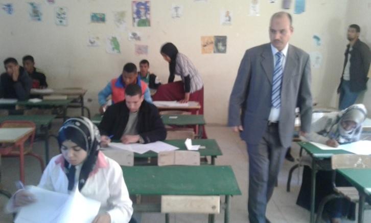 إنطلاق الدور الأول من الامتحانات الإشهادية الإعدادية بنيابة زاكورة