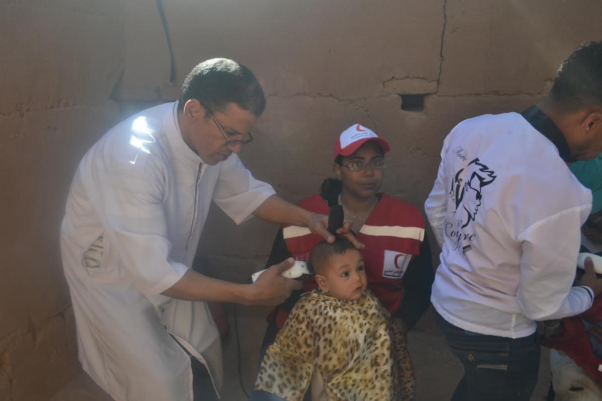 جمعية أجيال درعة ومنظمة الكشافة الجوال بمدينة زاكورة ينظمان حملة ختان للاطفال دوار الدبدبة وأيت المال