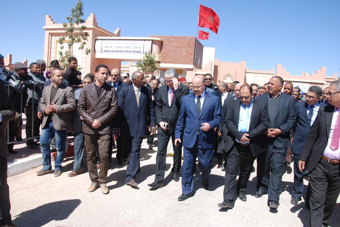 وزير الصحة يفتتح المستشفى الجديد للقرب بقلعة مكونة