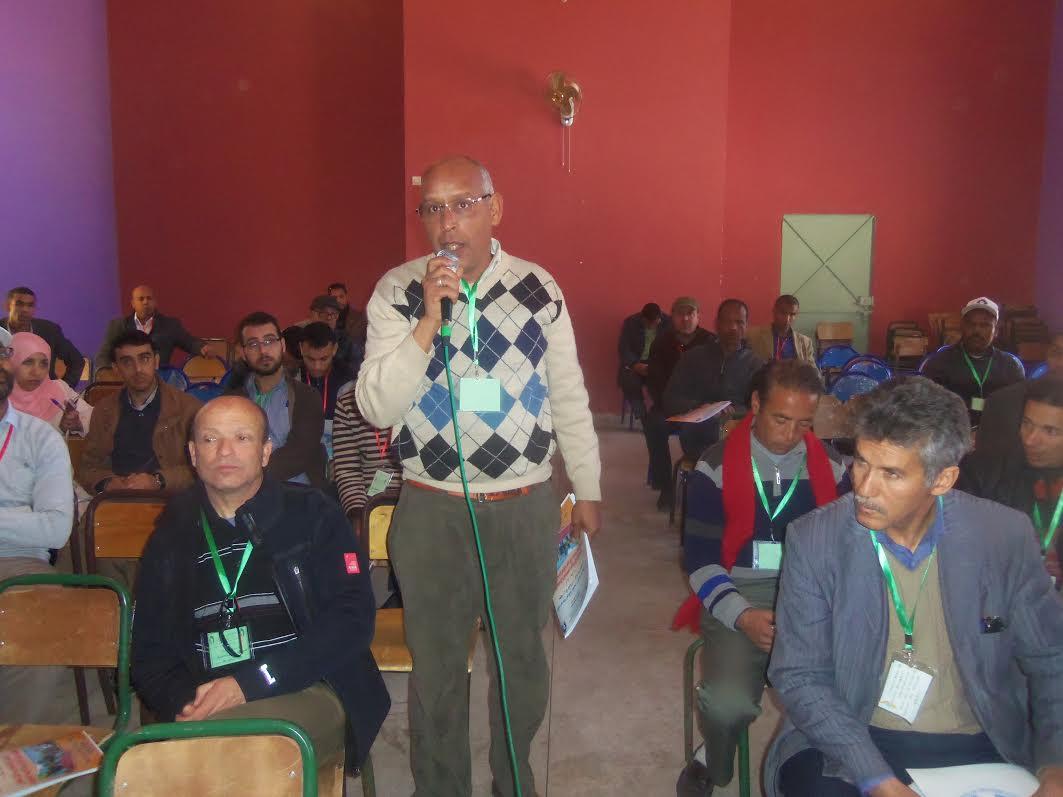 زاكورة: إبراهيم رزقو كاتبا جهويا للجامعة الوطنية للتعليم- التوجه الديمقراطي – بدرعة تافيلالت