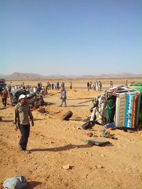 تنغير: اصطدام بين سيارة كات كات وشاحنة على متنها ما يفوق 25 تلميذ