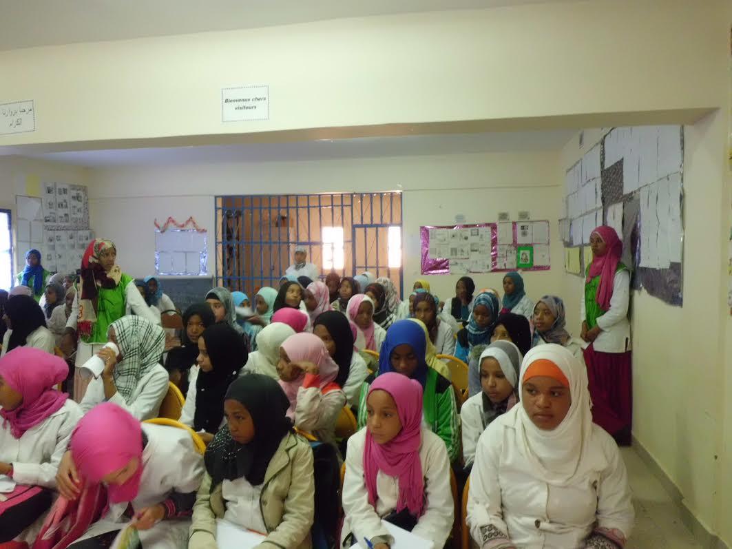 إعدادية أفلاندرا في لقاء تحسيسي حول الصحة الإنجابية