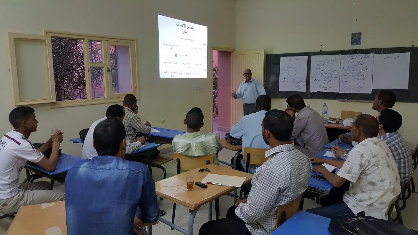 ورشة تكوينية حول كيفية صياغة مشاريع المبادرة الوطنية للتنمية البشرية بتازارين
