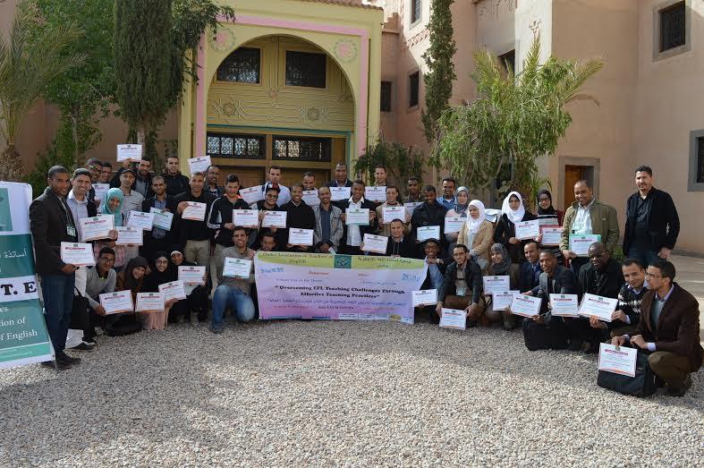 """جمعية أساتذة اللغة الإنجليزية بدادس تنظم يوما دراسيا حول """" التغلب على تحديات تدريس اللغة الإنجليزية من خلال الممارسات الصفية الفعالة"""""""