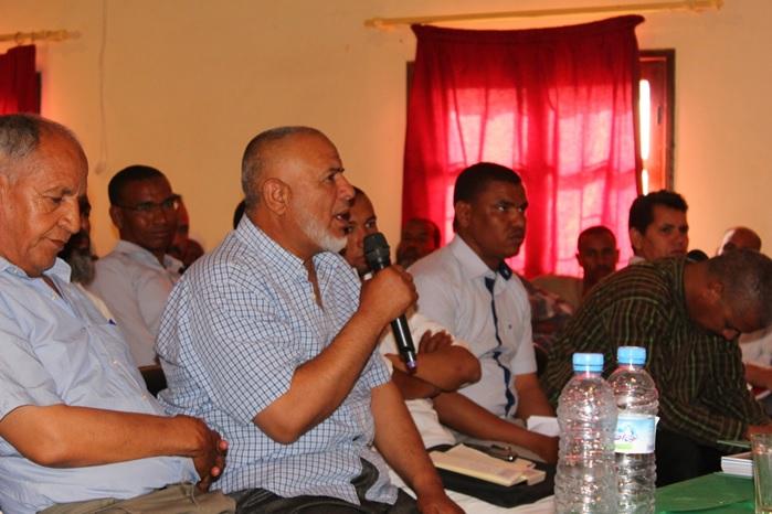 جماعة تمكروت تنظم لقاءا تواصلي حول برنامج عمل الجماعة PAC-4