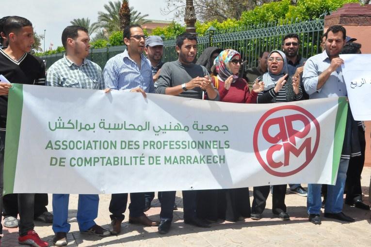 بلاغ جمعية مهنيي المحاسبة بمراكش