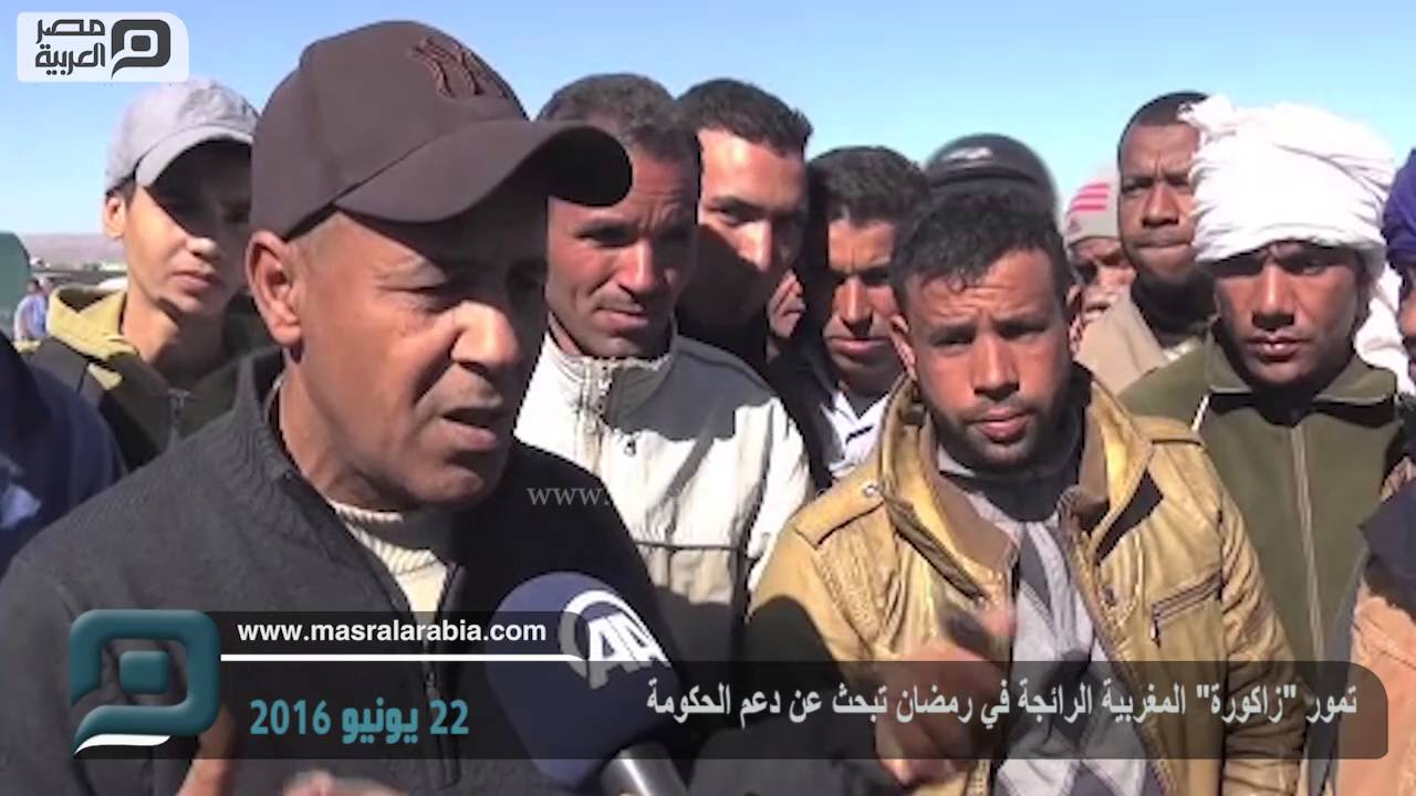 """تمور """"زاكورة"""" المغربية الرائجة في رمضان تبحث عن دعم الحكومة"""