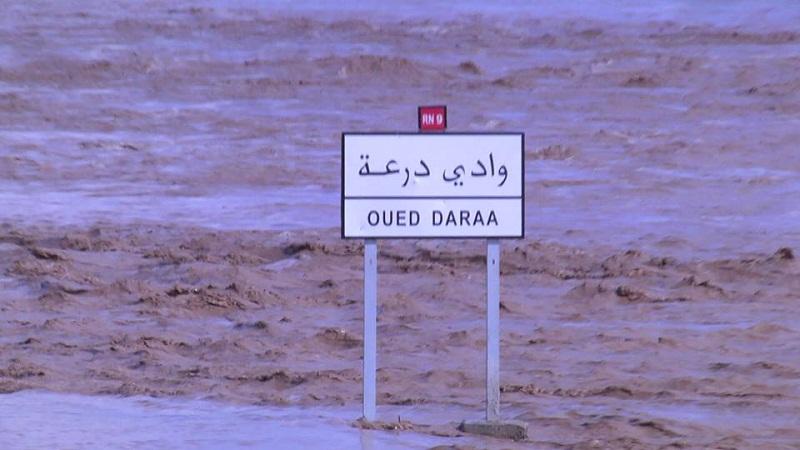 عاجل:غرق شاب في مياه وادي درعة نواحي دوار الكعابة بزاكورة