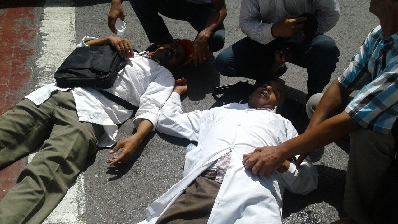 إصابات في صفوف أساتذة سد الخصاص والتربية غيرة النظامية خلال تدخل قوات الأمن بالرباط