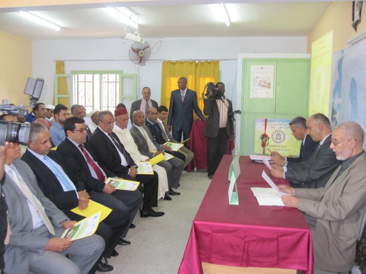 افتتاح الأيام التحسيسية لمواكبة مؤتمر المناخ COP22 بالمديرية الإقليمية لزاكورة-4