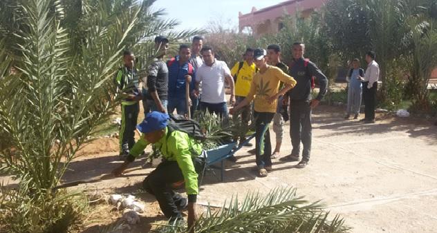 المنجزة بثانوية عثمان بن عفان في اطار استضافة بلادنا COP22-1