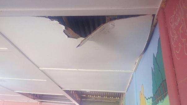 """البنية التحتية لمجموعة مدارس """"أزعار"""" نيابة """"زاكورة """" تهدد سلامة التلاميذ و الأساتذة"""