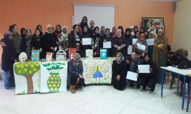 مندوبية زاكورة: الدورة التكوينية المنظمة لفائدة مربيات رياض الاطفال بزاكورة