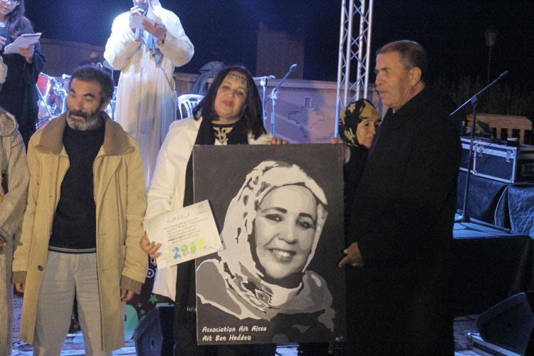 جمعية أيت عيسى تكرم وجوه فنية بمناسبة السنة الأمازيغية الجديدة-1