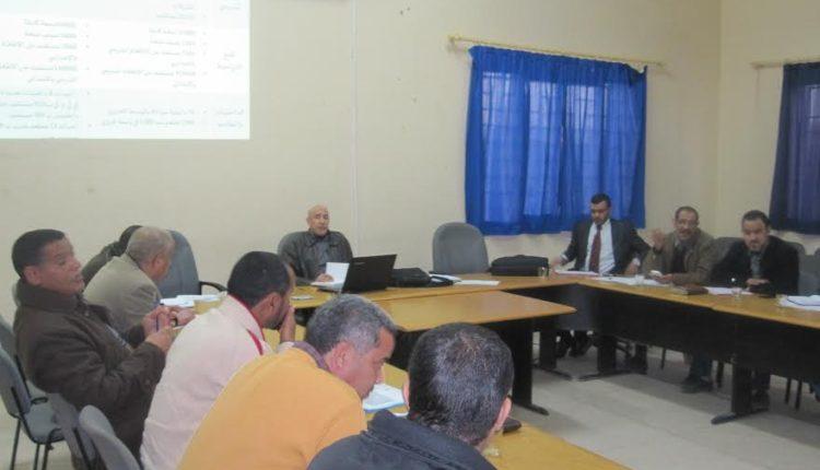 لقاء تنسيقي إقليمي لتنفيذ المشارع المندمجة للرؤية الإستراتيجية 2015-2030 بالمديرية الإقليمية زاكورة