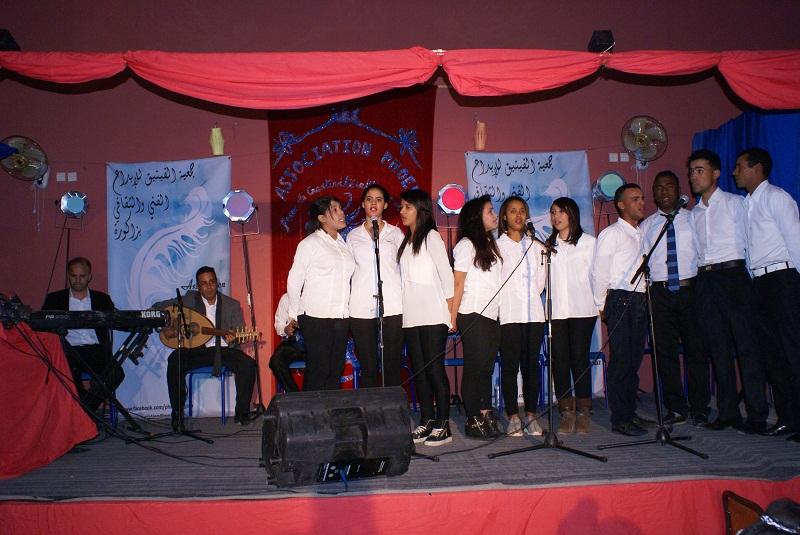 جمعية الفينيق تحتفل بالدكرى السادسة لتاسيسها بدار الشباب زاكورة