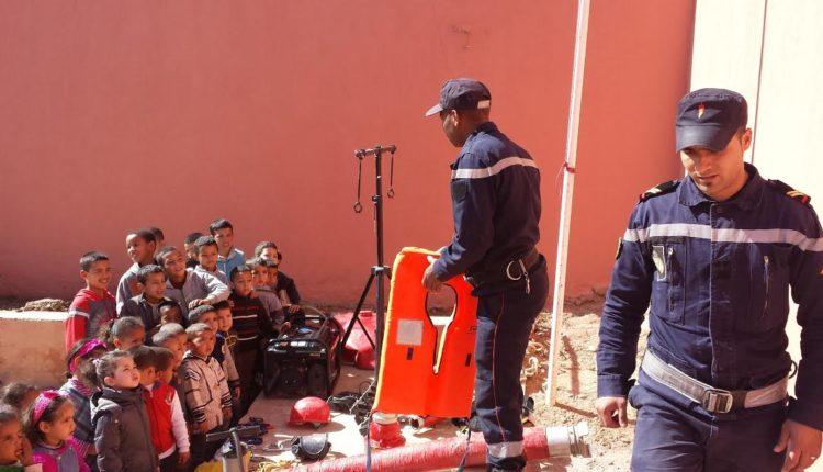 تازارين: الوقاية المدنية تحتفل بعيدها الوطني وسط الإكراهات