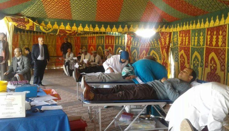 حملة للتبرع بالدم بإقليم زاكورة