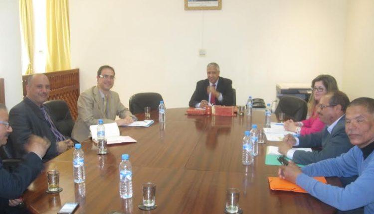 لقاء عمل مع منظمة الأمم المتحدة لرعاية الطفولة اليونسيف بزاكورة